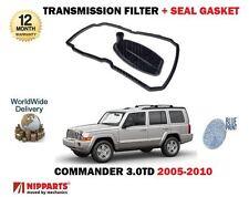 für Jeep Commander 3.0TD 2005- > NEU Automat Getriebefilter + Dichtung Dichtung