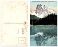 CANADA Postcard - British Columbia, Canadian Rockies, Emerald Lake (B13)