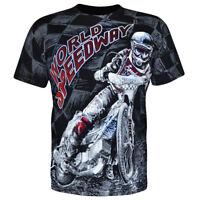 T-shirt Koszulka Racing Motorbiker Biker Motorcycles Speedway Żużel Rider Race