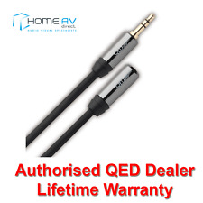 QED Performance Headphone 3.5mm Extension Cable Lead Male to Female 3m - QE7301