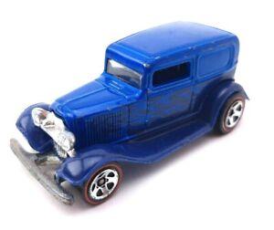 Vintage Blue Coupe HotWheels Redline Edition - 1988 Mattel