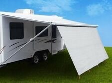 2.1m x 1.9m Sunscreen Privacy Screen Sun Shade Wall Roll Out Caravan Awning