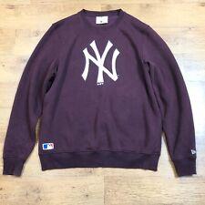 New Era Jumper New York Yankees Big Logo Sweatshirt Red 2XL