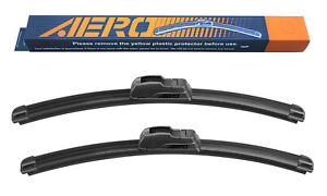 "AERO 13"" + 13"" OEM Quality All Season Beam Windshield Wiper Blades (Set of 2)"