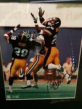 AUTHENTIC Signed 8 X 10 Photograph Pittsburgh Steelers NFL Rod Woodson #26
