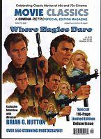WHERE EAGLES DARE CINEMA RETRO 116 PAGE MOVIE CLASSICS SPECIAL ISSUE!