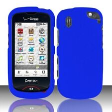 Hard Rubberized Case plus for Pantech Hotshot 8992 - Blue