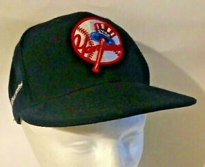 New York Yankees Mitchell and Ness Cooperstown Collection Fitted Hat Size 7 MLB