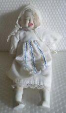 3 Face Doll Happy Crying Sleep Handmade ? Ceramic Bisque Baby Vtg Style neocurio