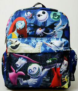 "Disney The Nightmare Before Christmas Mini 12"" Purse Backpack Jack Skellington"