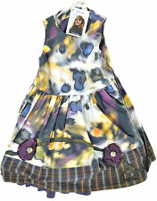 Jottum  ●●  Kleid m. Unterrock bunt Glitzersteine Gr.104 Neu m.Etikett