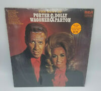 Porter Wagoner and Dolly Parton The Best Of Porter & Dolly 1971 Vinyl LP NM
