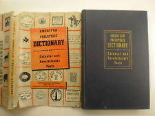 American Philatelic Dictionary & Colonial and Revolutionary Posts, DJ, 1947