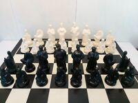 Amazing chess set..Antiques.1960.