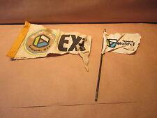1974 Expo World's Fair Spokane Washington Flag and Banner