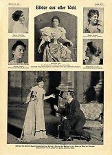 Gastspiel Pariser Operettengesellschaft Frl.Méaly* Teresina Tua italienische1901