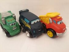 Tonka Mini Chuck & Friends, Rowdy The Garbage Truck and  Soku The Cruiser