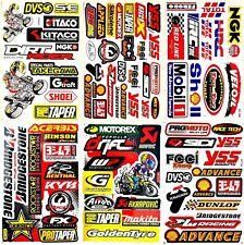 Motorcycles Motocross Dirt Bikes Jet ski D6036 Lot 6 Vinyl Decals Stickers