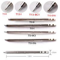 4pcs Bleifreies Lötkolben Tips T13- B I BC1 D16 Solder Lötkopf für BAKON 950D