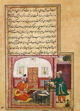 Tutinama (racconti di un pappagallo) Lo sceicco & Il pappagallo parlante Poster Artistico Islamico