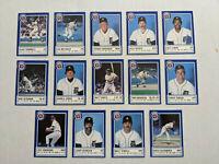 1988 Detroit Tigers Michigan State Police Baseball Set Trammell Whitaker Morris