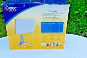 NEW CAREX  DAYLIGHT CLASSIC BRIGHT THERAPY LAMP LIGHT White DL93011