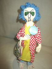 New ListingMaxine Doll with Don't Worry Be Crabby Pin Back Button Hallmark Shoebox