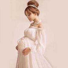 Pregnant Women Long Maxi Gown Photography Photo Shoot Fancy Maternity Dress