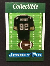 Green Bay Packers Reggie White & more lapel pins-Lot(12)-Cheesehead Collectables