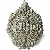 Original WW2 Argyll and Sutherland Highlanders Regiment Scottish Cap Badge BV96