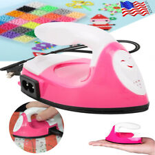 Mini Electric Iron Craft Clothes Sewing Supplies for Patch Spell Bean Diy Tools