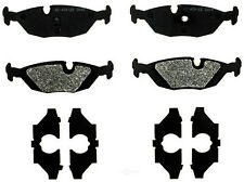 Disc Brake Pad Set-Semi Metallic Disc Brake Pad Rear ACDelco Pro Brakes 17D279M