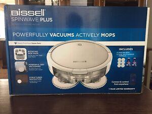 Bissell Spinwave Plus 2-1 Robotic Mop & Vacuum - 28596 - NIB