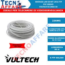 Matassa Cavo di Rete LAN Cat 6 FTP 50Metri/100Metri Vultech SC13602-50/13602-100