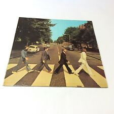 The Beatles Rare 'Abbey Road' 1972 Czech Club Edition Vinyl LP w. Booklet EX-/VG