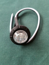 NIP 10 pc Lot of 3/4 inch Clear - AMBER LED Bullet / Penny Lights 12v