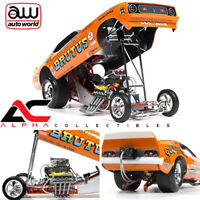 "AUTOWORLD AW1169 1:18 1971 FORD MUSTANG LEW ARRINGTON ""BRUTUS"" NHRA FUNNY CAR"