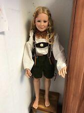 Susan Lippl Vinyl Puppe 105 cm. Top Zustand