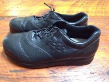 Genuine SAS Freetime Black Leather Comfort Walking Shoes Womens 10 WWW 41