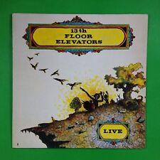 THE THIRTEENTH FLOOR ELEVATORS Live LIK30 LP Vinyl VG++ Cover VG+ DECAL EEC 1988
