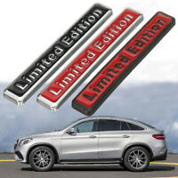 Universal 3D Metal Limited Edition Car Auto Side Body Emblem Badge Sticker