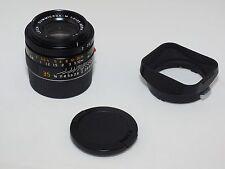 Leica M6 Summicron-M ASPH 35mm f2 lens. Germany. Leica MP, M240, M10, Sony a7rII
