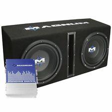 """New listing Mtx Magnum Mb210Sp Dual 10"""" Enclosure/Amp Combo"""