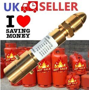 FILL GAS BOTTLE UK Bayonet LPG Filler CYLINDER SWIVEL ADAPTER RV MOTORHOME #