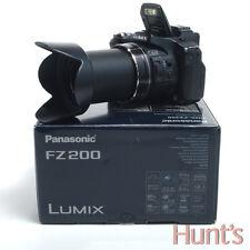 PANASONIC LUMIX DMC-FZ200 12.1 MP CAMERA w/24x OPTICAL ZOOM f2.8 LEICA LENS