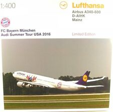 Airbus A340-600 - FC Bayern Audi Summer Tour USA 2016 - Lufthansa (Reg. D-AIHK)