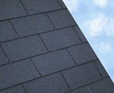 2SQM Felt Roofing Shingles | Shed Felt Roof Shingles | BLACK RECTANGULAR TAB