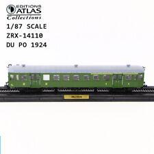 ATLAS 1/87 La Remorque D'extremite ZRx-14110 1924 TRAIN MODEL Collection