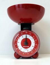 Salter Mechanische Küchenwaage Orb, rot