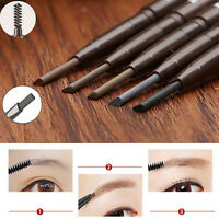 Makeup Waterproof Eyebrow Eye Brow Pencil Liner With Brush Cosmetic Tool ONE
